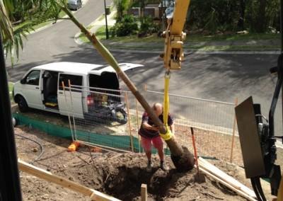 excavator hire tas